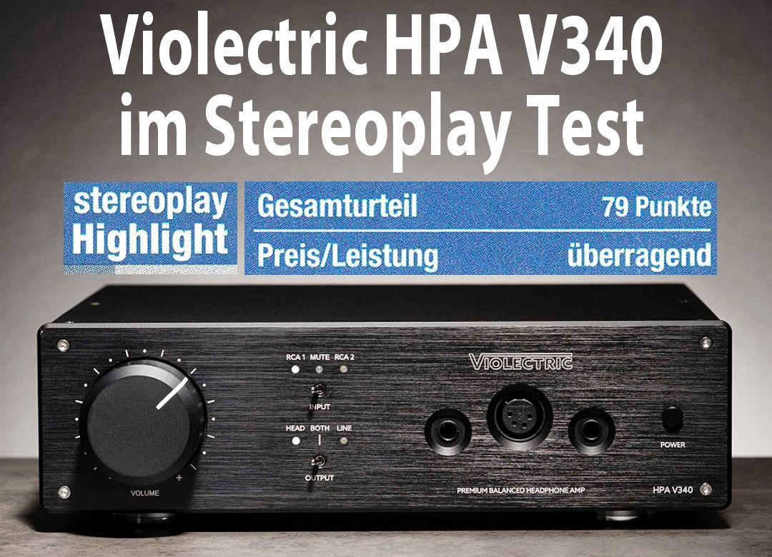 Violectric HPA V340 Stereoplay